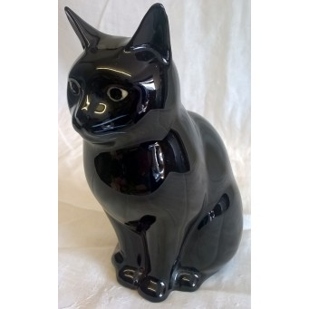 QUAIL CAT FIGURE - LUCKY