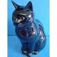 QUAIL CAT FIGURE - LUCKY