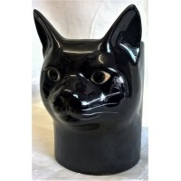 QUAIL CAT PENCIL POT, DESK TIDY OR VASE - LUCKY