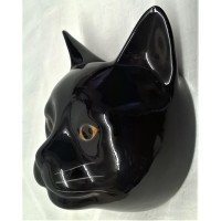 QUAIL CAT WALL VASE - LUCKY