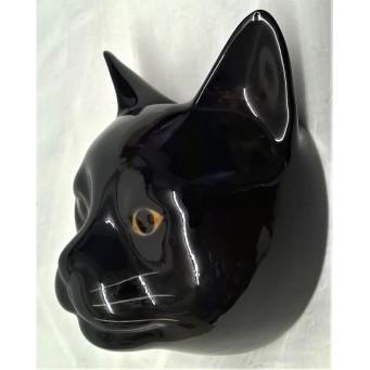 QUAIL CAT WALL VASE - LUCKY