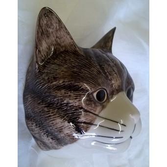 QUAIL CAT WALL VASE - MILLIE