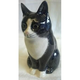 QUAIL CAT MONEYBOX - OLIVER