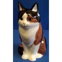 QUAIL CAT FIGURE - POPPET