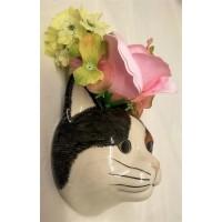 QUAIL CAT WALL VASE - POPPET