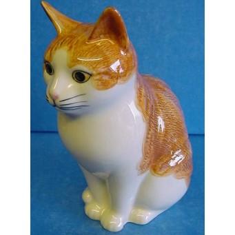 QUAIL CAT MONEYBOX - SQUASH