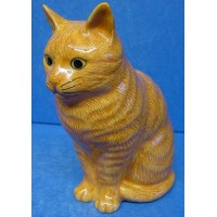 QUAIL CAT MONEYBOX - VINCENT
