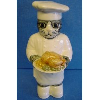 QUAIL CAT FIGURE - CHEF