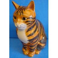 QUAIL CAT FIGURE - REUBEN