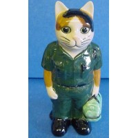 QUAIL CAT FIGURE - PARAMEDIC AMBULANCE MAN