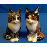 QUAIL CAT SALT & PEPPER SET - POPPET & OLIVER