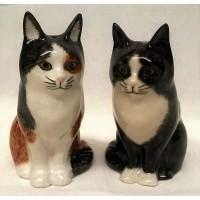 QUAIL CAT SALT & PEPPER SET - POPPET & OLIVER