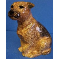 QUAIL BORDER TERRIER MONEYBOX