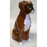 QUAIL BOXER DOG MONEYBOX