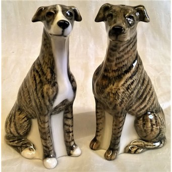 QUAIL GREYHOUND SALT & PEPPER SET