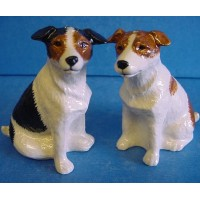 QUAIL JACK RUSSELL TERRIER SALT & PEPPER SET