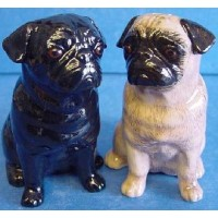 QUAIL PUG SALT & PEPPER SET
