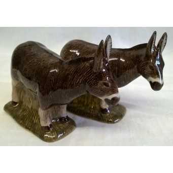 QUAIL DONKEY SALT & PEPPER SET