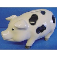 QUAIL GLOUCESTER OLD SPOT PIG PIGGY BANK