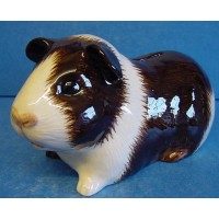 QUAIL GUINEA PIG MONEYBOX – BROWN & WHITE