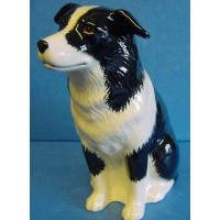 QUAIL BORDER COLLIE MONEYBOX