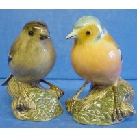 QUAIL CHAFFINCH SALT & PEPPER SET