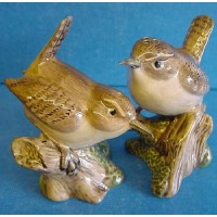 QUAIL WREN SALT & PEPPER SET