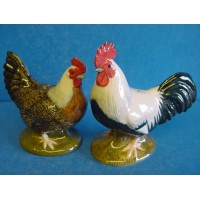 QUAIL DORKING CHICKEN SALT & PEPPER SET