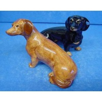 QUAIL DACHSHUND SALT & PEPPER SET