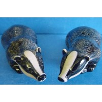 QUAIL BADGER SALT & PEPPER SET