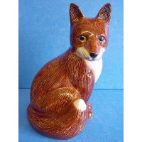 QUAIL FOX MONEYBOX