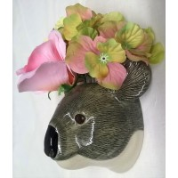 QUAIL KOALA WALL VASE – SMALL