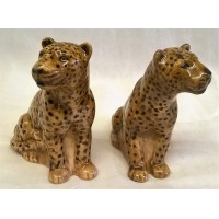 QUAIL LEOPARD SALT & PEPPER SET