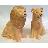 QUAIL LION SALT & PEPPER SET