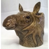 QUAIL MOOSE PENCIL POT, DESK TIDY OR VASE