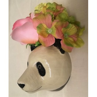 QUAIL GIANT PANDA WALL VASE - SMALL
