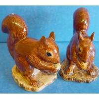 QUAIL SQUIRREL SALT & PEPPER SET