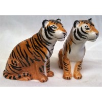 QUAIL TIGER SALT & PEPPER SET