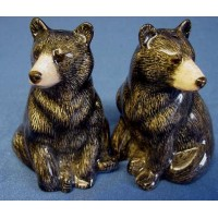 QUAIL BLACK BEAR SALT & PEPPER SET