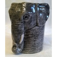 QUAIL ELEPHANT PENCIL POT, DESK TIDY OR VASE