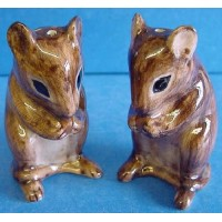QUAIL MOUSE SALT & PEPPER SET