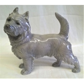 BING & GRONDAHL PORCELAIN DOG - SCOTTISH CAIRN TERRIER DESIGN 2070