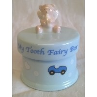 RUSS TOOTH FAIRY TRINKET BOX – BLUE