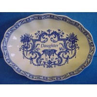 SPODE BLUE ROOM MEMENTO TRAY DAUGHTER