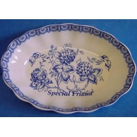 SPODE BLUE ROOM MEMENTO TRAY SPECIAL FRIEND