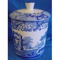 SPODE BLUE ITALIAN KITCHEN STORAGE JAR – 3.5 PINTS