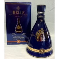 BELL'S WHISKY DECANTER – QUEEN'S GOLDEN JUBILEE – FULL, SEALED & BOXED