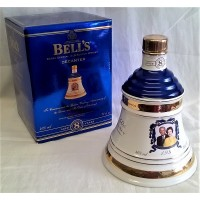 BELL'S WHISKY DECANTER – QUEEN'S GOLDEN WEDDING ANNIVERSARY – FULL, SEALED & BOXED