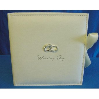 "JULIANA AMORE SUEDE FINISH WEDDING DAY PHOTOGRAPH ALBUM - 100 7"" X 5"" PHOTOS"