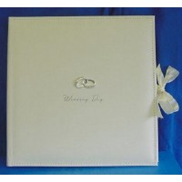 JULIANA AMORE SUEDE FINISH WEDDING DAY COLLAGE PHOTO ALBUM